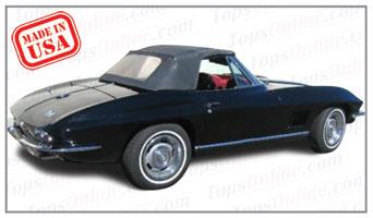 Convertible Tops & Accessories:1963 thru 1967 Chevy Corvette (C2)