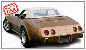 Convertible Tops & Accessories:1968 thru 1975 Chevy Corvette (C3)