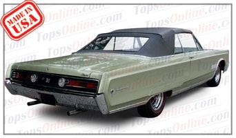 Rubber Weatherstrips:1967 and 1968 Chrysler 300 & Newport Convertible