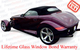 Convertible Tops & Accessories:1997 thru 2002 Chrysler Prowler