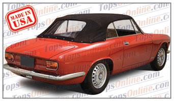Convertible Tops & Accessories:1965 and 1966 Alfa Romeo GTC