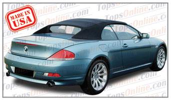 Convertible Tops & Accessories:2004 thru 2010 BMW 630i, 645ci, 650i & M6 (E64)