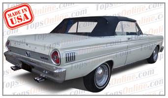 Rubber Weather Seals:1963 thru 1965 Ford Falcon Futura & Falcone Futura Sprint Convertible