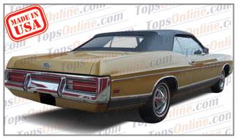 Convertible Tops & Accessories:1969 thru 1972 Ford Galaxie 500, Galaxie XL & LTD
