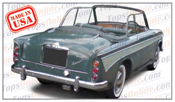 Convertible Tops & Accessories:1959 thru 1962 Singer Gazelle