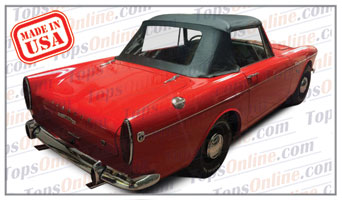 Convertible Tops & Accessories:1963 thru 1965 Sunbeam Alpine III, Alpine IV & Tiger Sport Roadster
