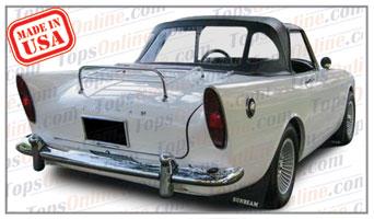 Convertible Tops & Accessories:1959 thru 1961 Sunbeam Alpine Series I Sport Roadster