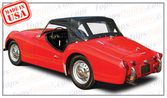 Convertible Tops & Accessories:1957 thru 1963 Triumph TR3A & TR3B Roadster