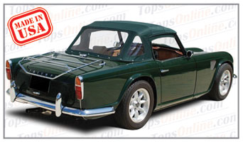 Convertible Tops & Accessories:1965 thru 1967 Triumph TR4A Roadster