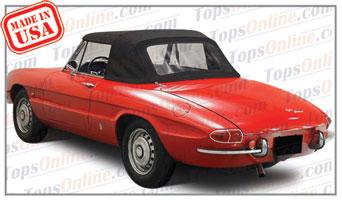Convertible Tops & Accessories:1966 thru 1970 Alfa Romeo Duetto Spider, 1600 & 1750 Spider Veloce