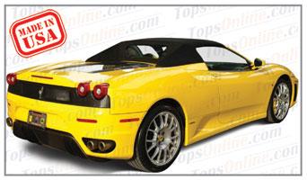 Convertible Tops & Accessories:2001 thru 2009 Ferrari 360 Spider, 360F Spider & F430 Spider