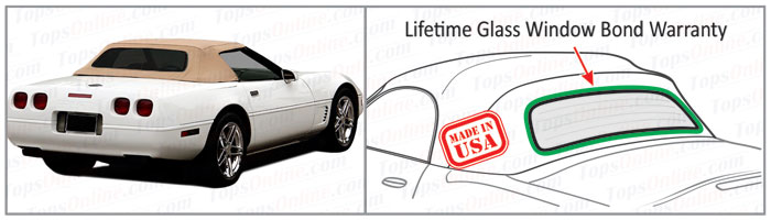 Convertible Tops & Accessories:1994 thru 1996 Chevy Corvette (C4)