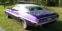 Convertible Tops & Accessories:1970 and 1971 Dodge Challenger & R&T