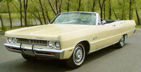 Convertible Tops & Accessories:1969 and 1970 Plymouth Fury III & Sport Fury (C Body)