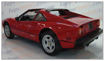 Seat Covers:1980 thru 1985 Ferrari 308 GTB, 308 GTS, 308 GTSI & QV