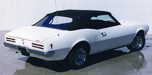 Rubber Weather Seals:1967 thru 1969 Pontiac Firebird & Trans Am Convertible