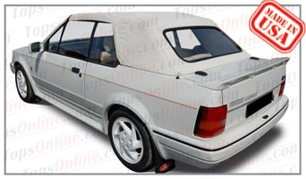 Convertible Tops & Accessories:1983 thru 1991 Ford Escort