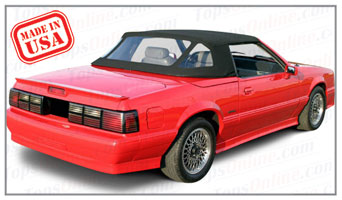 Convertible Tops & Accessories:1987 and 1988 Ford Mustang McLaren (ASC Conversion)