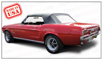 Convertible Tops & Accessories:1967 and 1968 Ford Mustang, Mustang GT & Shelby