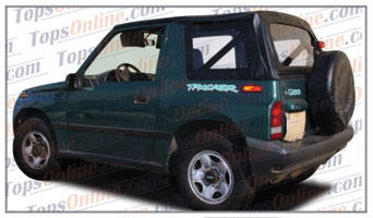 Convertible Tops & Accessories:1995 thru 1998 Geo Tracker