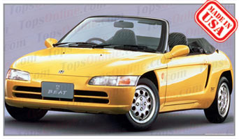 Convertible Tops & Accessories:1991 thru 1995 Honda Beat