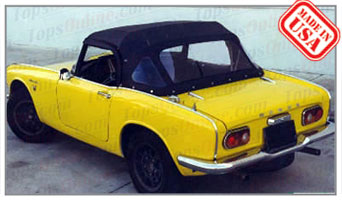 Convertible Tops & Accessories:1966 thru 1970 Honda S800