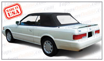 Convertible Tops & Accessories:1991 thru 1993 Infiniti M30