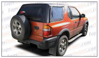 Convertible Tops & Accessories:1998 thru 2002 Isuzu Amigo & Rodeo Sport