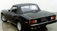 Convertible Tops & Accessories:1972 thru 1975 Jensen Healey Roadster