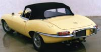 Convertible Tops & Accessories:1961 thru 1971 Jaguar XKE Roadster & E-Type