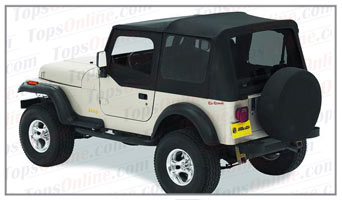 Convertible Tops & Accessories:1988 thru 1995 Jeep Wrangler YJ