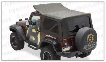 Convertible Tops & Accessories:2007 thru 2009 Jeep Wrangler JK 2 Door