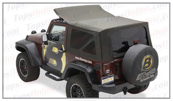 Convertible Tops & Accessories:2010 thru 2018 Jeep Wrangler JK 2 Door