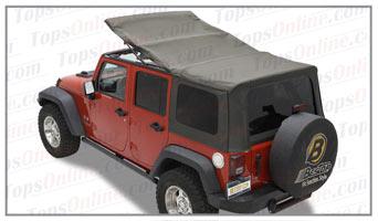 Convertible Tops & Accessories:2007 thru 2009 Jeep Wrangler Unlimited JK 4 Door