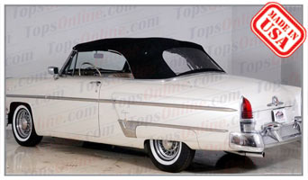Convertible Tops & Accessories:1952 thru 1955 Lincoln Capri 2 Door Convertible