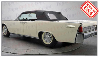Convertible Tops & Accessories:1961 thru 1963 Lincoln Continental 4 Door Convertible