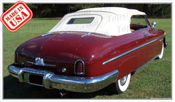 Convertible Tops & Accessories:1949 thru 1951 Lincoln Cosmopolitan 2 Door Convertible Coupe