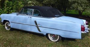 Convertible Tops & Accessories:1952 thru 1955 Lincoln Capri 2 Door Convertible