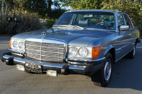 Seat Covers:1972 thru 1980 Mercedes 280S, 280SE, 280SEL, 300SD, 350SE, 350SEL, 450SE, 450SEL & 6.9 4 Door Sedan (W116 Chassis)