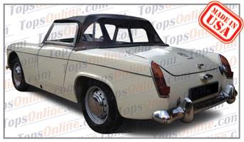 Convertible Tops & Accessories:1961 thru 1964 MG Midget MK I Roadster
