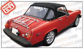 Convertible Tops & Accessories:1970 thru 1980 MG Midget MK III & MK IV Roadster
