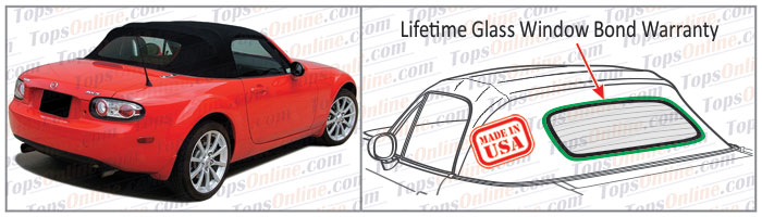 Convertible Tops & Accessories:2006 thru 2015 Mazda Miata MX5 & MX5 Eunos