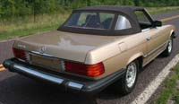 Carpet Kits:1980 thru 1985 Mercedes Benz 380SL, 280SL & 500SL (Chassis W107)