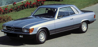 Seat Covers:1972 thru 1985 Mercedes 280SLC, 350SLC, 380SLC, 450SLC & 500SLC 2 Door Coupe (Chassis W107)