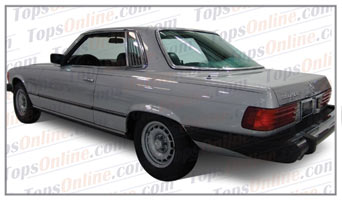 Seat Covers:1980 thru 1982 Mercedes 450SLC, 380SLC, 280SLC & 500SLC 2 Door Coupe (C107 Chassis)