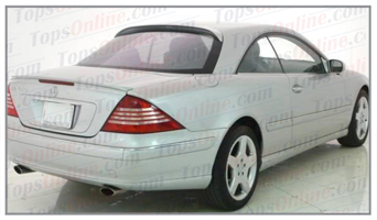 Seat Covers:2000 thru 2006 Mercedes CL500 & CL600 (C215 Chassis)