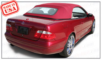 Convertible Tops & Accessories:1999 thru 2003 Mercedes CLK230, CLK320, CLK430 & CLK55 (Chassis 208)