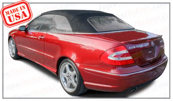 Convertible Tops & Accessories:2004 thru 2009 Mercedes CLK320, CLK350, CLK500, CLK550, CLK55 & CLK63 (Chassis 209)