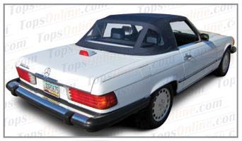 Rubber Weather Seals:1972 thru 1989 Mercedes 280SL, 300SL, 350SL, 380SL, 420SL, 450SL, 500SL & 560SL (R107) Convertible