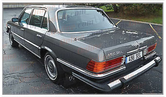 Carpet Kits:1972 thru 1980 Mercedes 280S SE SEL, 350SE SEL, 450SE SEL & 6.9 (W116 Chassis)